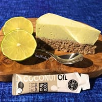 Cheesecake light al cocco, lime ed avocado