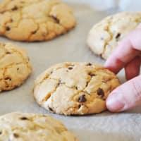 American Cookies con crema de avellanas paso 8