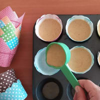 Muffins de Zanahoria para niños! paso 3