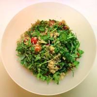 De ensalada de quinua