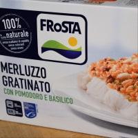 Bacalao gratinado con tomate y albahaca con garbanzos Frosta paso 1