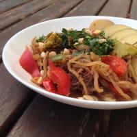 Pad Thai de Dientes de Dragón paso 4