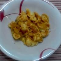 Orecchiette Con Crema Y Cebollas tomates secos ... !!!