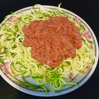 Spaghetti di zucchine in salsa guacacuore step 3