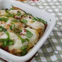 calabaza parmesana y boquerones