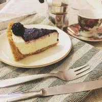 Torta ricotta cioccolato e more step 9