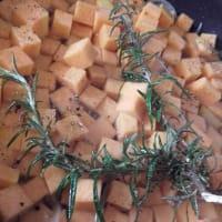 Pasta au gratin al horno con salsa de calabaza y paso 3