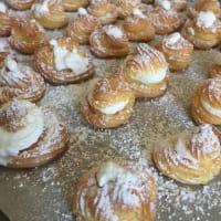 bollos de crema de pastelería paso 11