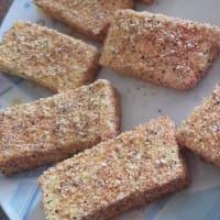 Bastoncini di tofu fritti e sartascinello step 6