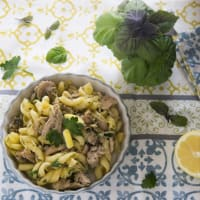 Fusilli to the Mediterranean tuna