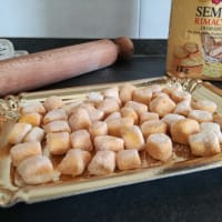 Gnocchi con calabaza