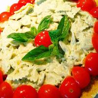 Pastel de queso pastel de queso sal macarrones