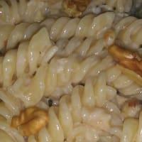 Fusilli gorgonzola y nueces