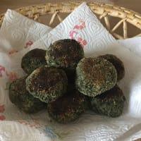 Polpette proteiche di spinaci