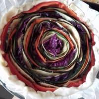 Torta salata arcobaleno