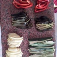 pastel de arco iris salada paso 8