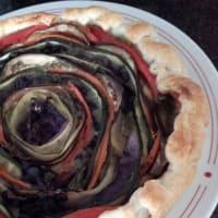 pastel de arco iris salada paso 11