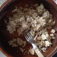 Pie de Chocoplatano y Crema de Coco paso 1