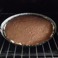 Pie de Chocoplatano y Crema de Coco paso 4