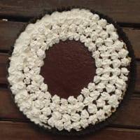 Pie de Chocoplatano y Crema de Coco paso 7