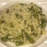 Risotto of asparagus