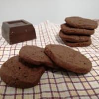 Biscotti al cioccolato fondente e fior di sale