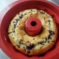 En dos tonos pastel de queso cottage chocolate paso 11