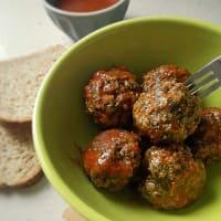 Albóndigas con acelgas en salsa de tomate paso 9
