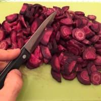 Crema de zanahoria púrpura paso 2