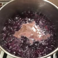 Crema de zanahoria púrpura paso 4