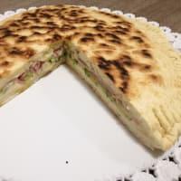 Torta Al Testo Ripiena step 5