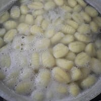 Ready-made grated potato gnocchi step 4