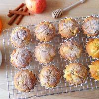 las manzanas del mollete con queso cottage y pasas de uva paso 3