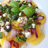 ensalada de patata mediterránea