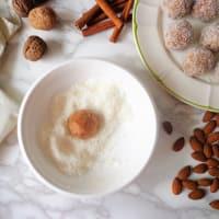 Bocconcini con coco y zanahoria paso 3