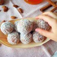 Bocconcini con coco y zanahoria paso 4