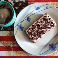 Tiramisú de coco y chocolate