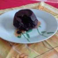 Pastel de chocolate suave Desde el corazón ... !!!