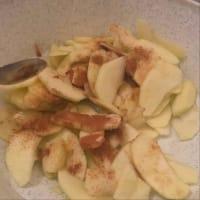 tarta de manzana integral paso 1