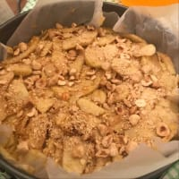 tarta de manzana integral paso 6