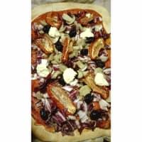 Pizza vegana ricca