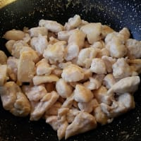 Bocados de pollo de mantequilla de maní paso 3