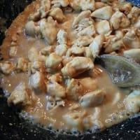 Bocconcini di pollo al burro di arachidi step 5