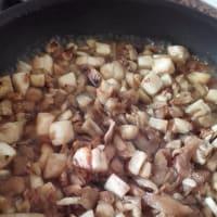 Barchette berenjena rellena gratinado Troccoli paso 3