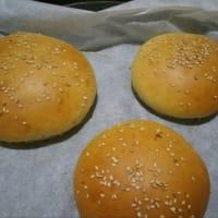 Bollos para hamburguesas