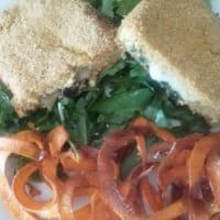 Cordon bleu soja y fideos de batata paso 18
