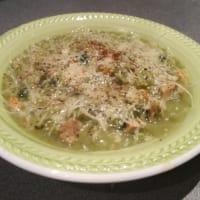 Sopa con semillas de sésamo