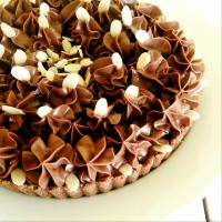 Tarta de chocolate fría
