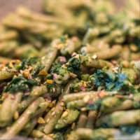 Caserecce integrali con erbette e zucchine step 4
