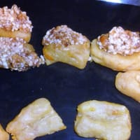 Soft biscuits with stuffed honey step 11